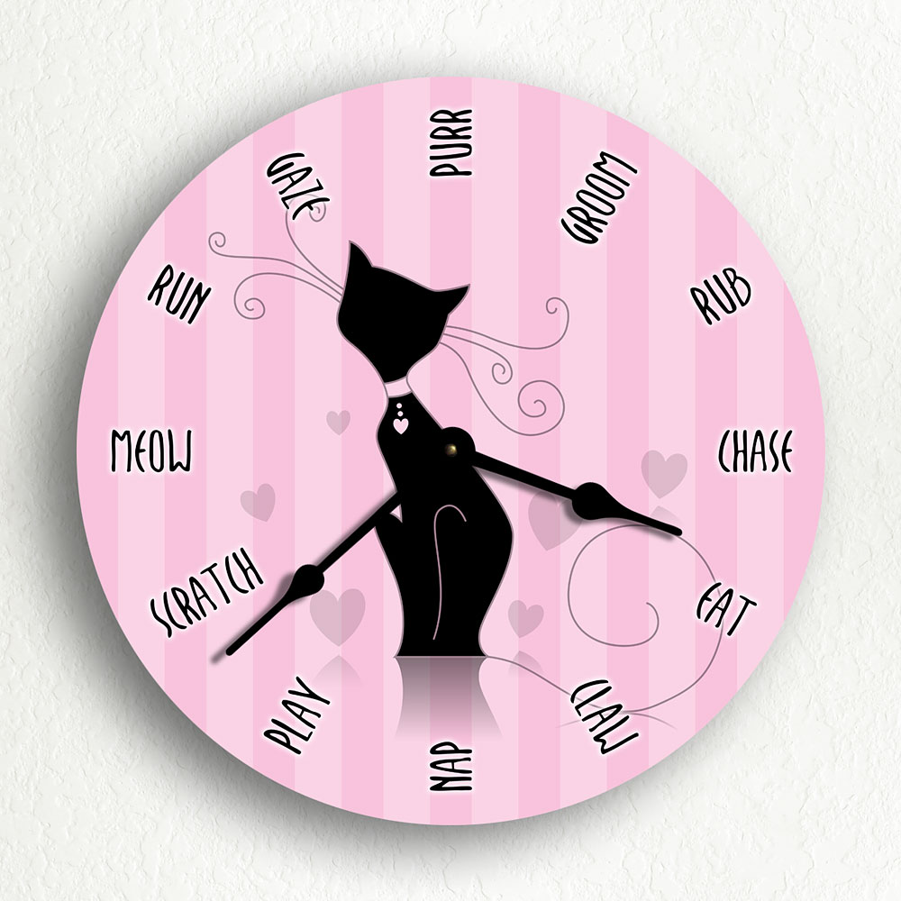 Cat_Clock_10in